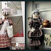 Куклы и игрушки handmade. Livemaster - original item Packetize. The cook and the scullion. Handmade.