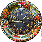 Для дома и интерьера handmade. Livemaster - original item Watch from Siberian cedar series