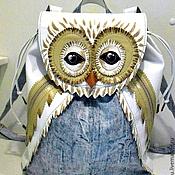 """Сумки и аксессуары ручной работы. Ярмарка Мастеров - ручная работа """"Совушка - полярушка"""" рюкзак авторской работы. Handmade."""