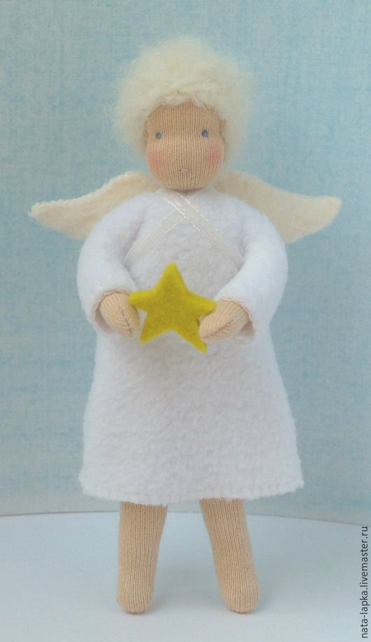 Ангел, Вальдорфские куклы и звери, Саров,  Фото №1