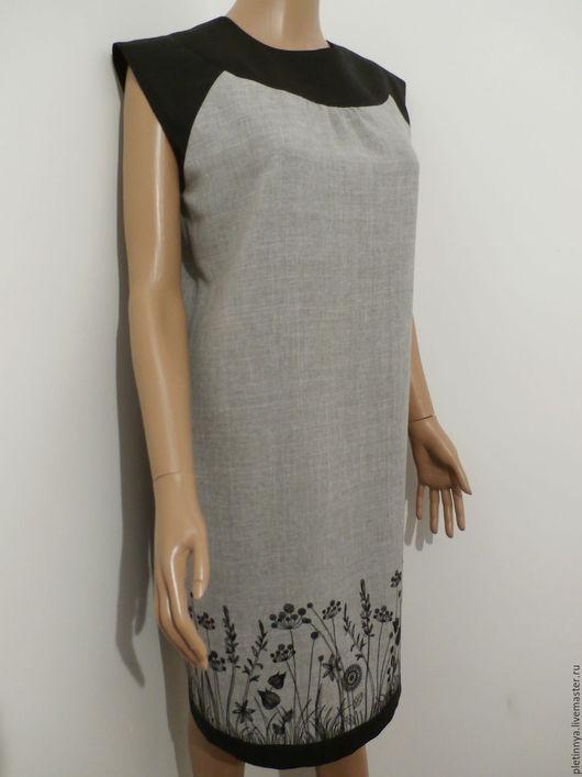 """Платья ручной работы. Ярмарка Мастеров - ручная работа. Купить платье """" лунная трава"""". Handmade. Серый, безупречный пошив"""