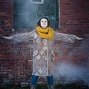Одежда ручной работы. Ярмарка Мастеров - ручная работа Пальто из войлока Алмеркор 16001. Handmade.