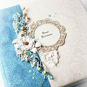 Свадебный салон ручной работы. Ярмарка Мастеров - ручная работа Большой свадебный/венчальный альбом. Handmade.