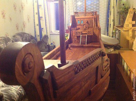 Мебель ручной работы. Ярмарка Мастеров - ручная работа. Купить корабль-бар из дерева резной. Handmade. Комбинированный, галеон