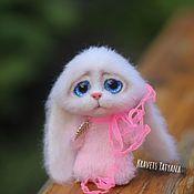 Куклы и игрушки handmade. Livemaster - original item Copyright felted toy Bunny pocket. Handmade.