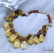 """Украшения handmade. Livemaster - original item Jewellery made from natural stones """"Desert"""". Handmade."""