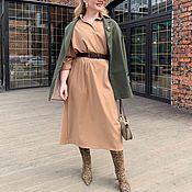 Платья ручной работы. Ярмарка Мастеров - ручная работа Платье свободное много цветов 48-60. Handmade.