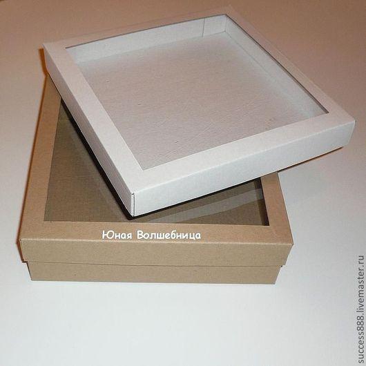 оригинальная упаковка, коробка из микрогофрокартона с окошком, коробка с окошком, подарочная коробка с окошком, упаковка для украшений, упаковка для пряников