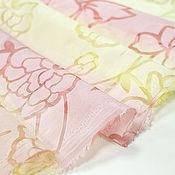 Шторы ручной работы. Ярмарка Мастеров - ручная работа Розово-лимонный тюль Зефир. Handmade.