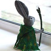Куклы и игрушки handmade. Livemaster - original item Hare druid felting wool. Handmade.
