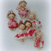 Куклы и игрушки ручной работы. Ярмарка Мастеров - ручная работа Ангелочки ВАЛЕНТИНКИ. Handmade.