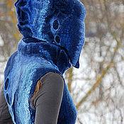 """Одежда ручной работы. Ярмарка Мастеров - ручная работа Жилет """"Azureus"""". Handmade."""