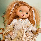 Куклы и игрушки ручной работы. Ярмарка Мастеров - ручная работа Тося. Коллекционная текстильная кукла.. Handmade.