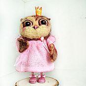 Куклы и игрушки ручной работы. Ярмарка Мастеров - ручная работа Сова -феечка. Handmade.