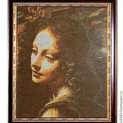"""Картины и панно ручной работы. Ярмарка Мастеров - ручная работа картина """"Лик ангела"""". Handmade."""