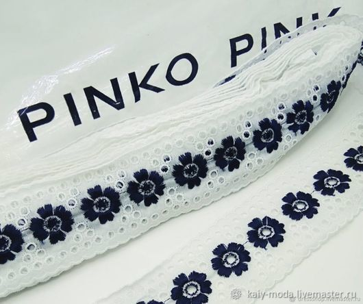 pinko cotton sewing, Lace, Moscow,  Фото №1
