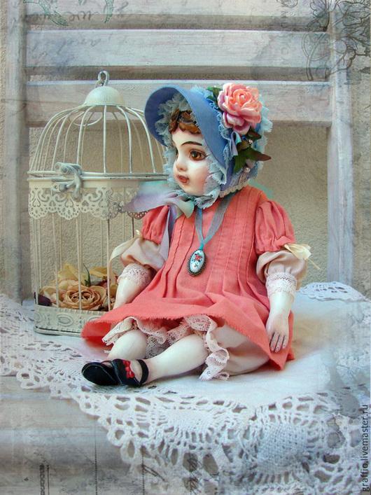 Коллекционные куклы ручной работы. Ярмарка Мастеров - ручная работа. Купить Варя. Handmade. Тедди долл, тедди-долл