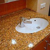 Для дома и интерьера ручной работы. Ярмарка Мастеров - ручная работа Столешнаца для ванной. Handmade.