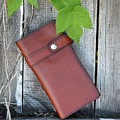 Сумки и аксессуары handmade. Livemaster - original item Leather wallet №31. Handmade.