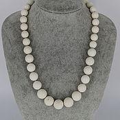 Украшения handmade. Livemaster - original item Beads made from natural sponge coral