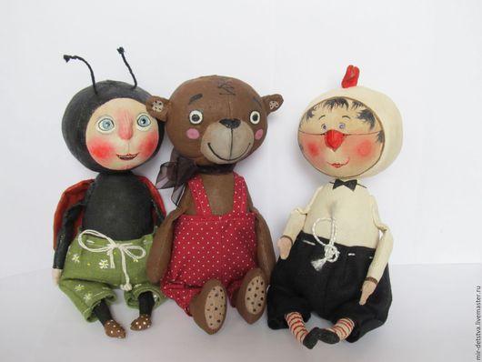 Куклы и игрушки ручной работы. Ярмарка Мастеров - ручная работа. Купить Мишка Тихон. Handmade. Мишка, ароматная игрушка