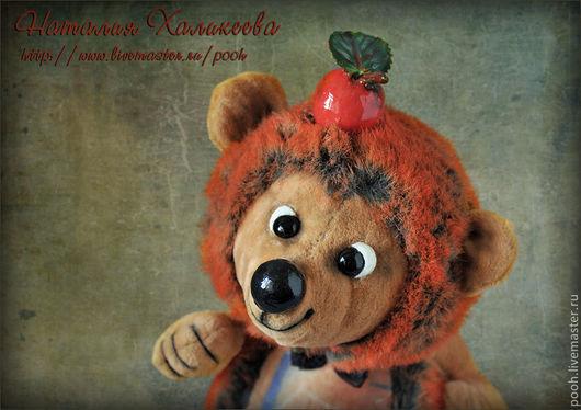 """Мишки Тедди ручной работы. Ярмарка Мастеров - ручная работа. Купить Ежик """"Колючка"""" - друг мишки Тедди. Handmade."""
