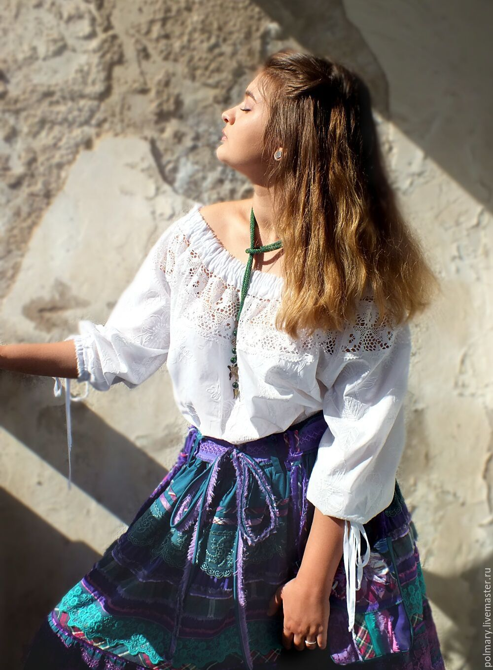 Blouse From Sewing And Lace Vanessa Shop Online On Livemaster Polmary