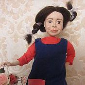 Куклы и игрушки ручной работы. Ярмарка Мастеров - ручная работа Пеппи-длинный чулок. Handmade.