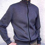 Одежда ручной работы. Ярмарка Мастеров - ручная работа джемпер мужской трикотажный. Handmade.