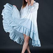 Одежда handmade. Livemaster - original item Women`s shirt dress, Fashionable tunic DR0194CTSL. Handmade.