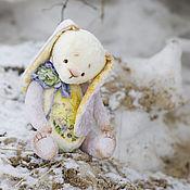 Куклы и игрушки ручной работы. Ярмарка Мастеров - ручная работа Хранитель первого луча зайка тедди. Handmade.