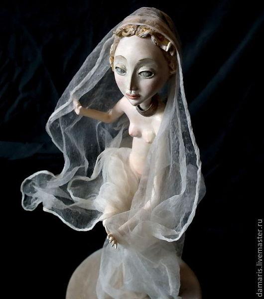 Коллекционные куклы ручной работы. Ярмарка Мастеров - ручная работа. Купить Предчувствие Кассандры. Handmade. Коллекционная кукла, единственный экземпляр