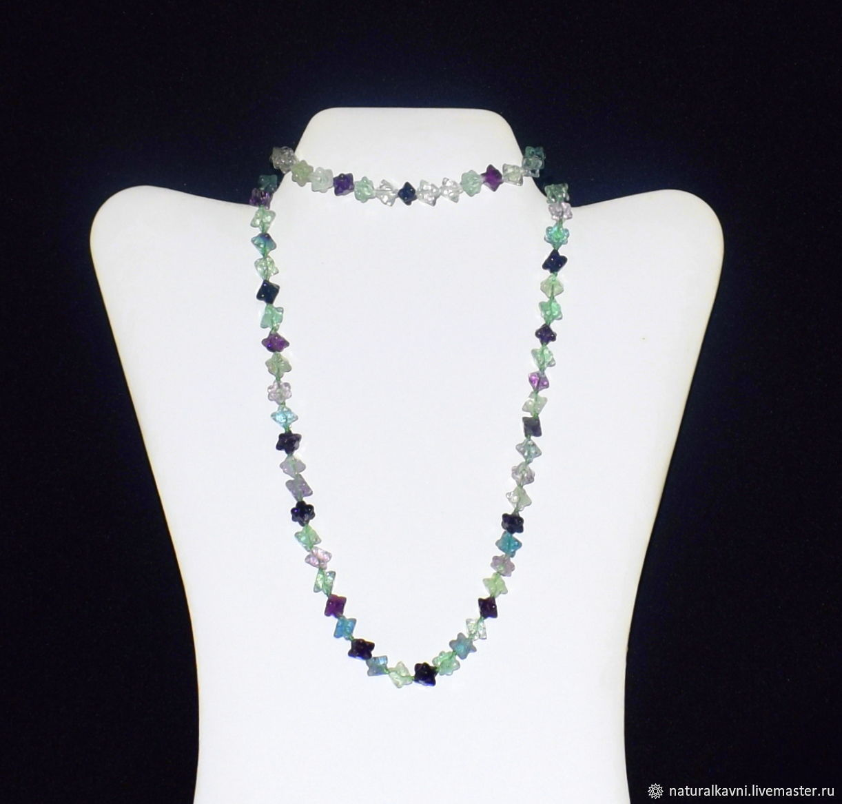 Jewelry set made of natural fluorite, Jewelry Sets, Moscow,  Фото №1