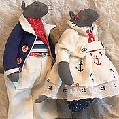 Куклы и игрушки ручной работы. Ярмарка Мастеров - ручная работа Морские мыши. Handmade.