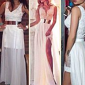 Одежда handmade. Livemaster - original item Short wedding dress with removable skirt