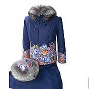 Одежда ручной работы. Ярмарка Мастеров - ручная работа Яркая зима - комплект с ППП. Handmade.