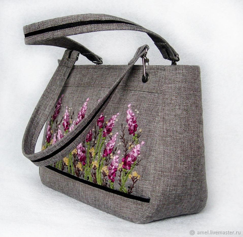 Bag 'Femme Provence' Motives, Classic Bag, Izhevsk,  Фото №1