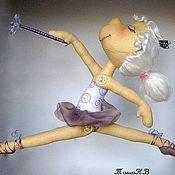 Куклы и игрушки ручной работы. Ярмарка Мастеров - ручная работа Маленькая балерина Лилу. Handmade.