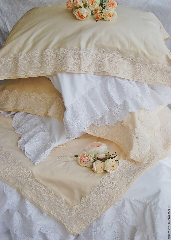 №48 Постельное белье с кружевом. Подарок на свадьбу, Подарки, Самара,  Фото №1