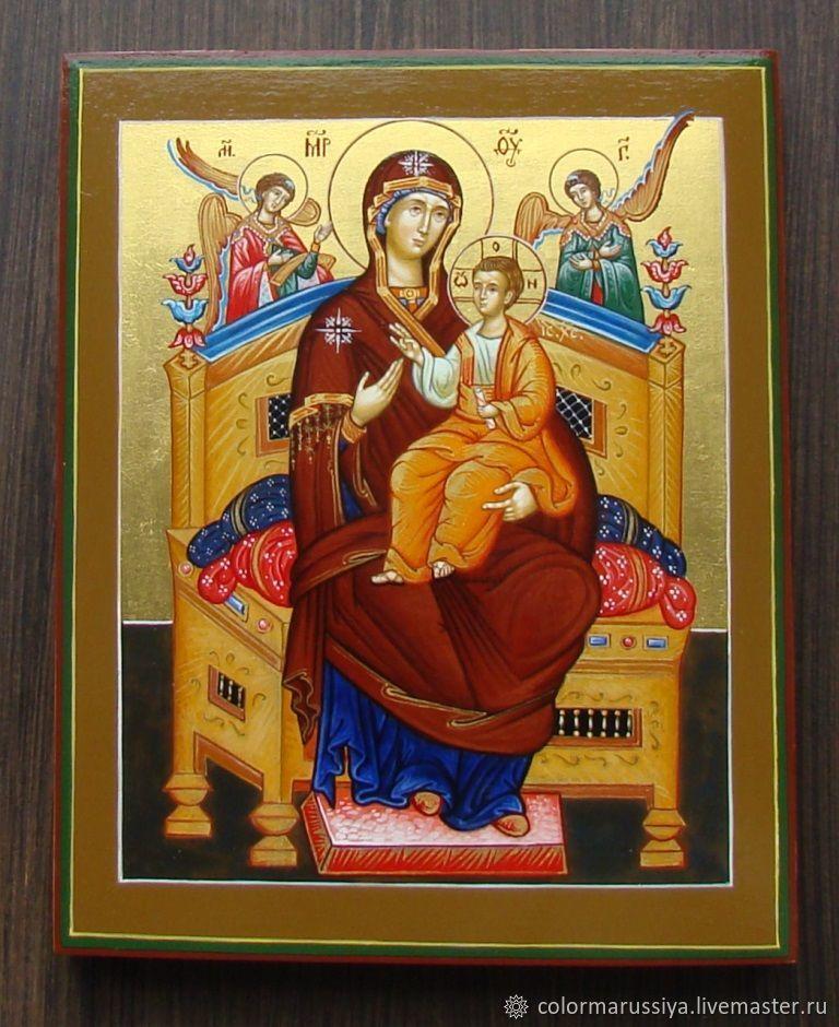 Icon of the mother of God 'vsetsaritsa' (handwritten), Icons, Vyazniki,  Фото №1