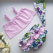 Комплекты одежды ручной работы. Ярмарка Мастеров - ручная работа Набор для самых маленьких принцес. Handmade.