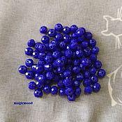 Материалы для творчества handmade. Livemaster - original item 20 PCs 4 mm roundels opaque glass R40770. Handmade.
