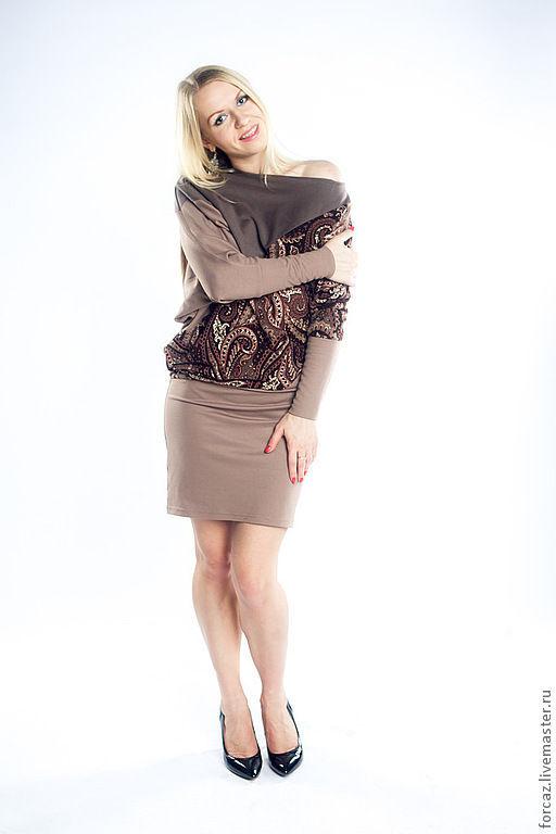 """Платья ручной работы. Ярмарка Мастеров - ручная работа. Купить Платье """"Асимметрия"""". Handmade. Платье трикотажное, платье вечернее"""