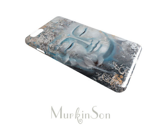 Для телефонов ручной работы. Ярмарка Мастеров - ручная работа. Купить Чехол для телефона Buddha. Handmade. Бежевый, iphone 6