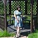 Платья ручной работы. Платье из жаккардовой ткани Райский сад-1. Сударыня. Ярмарка Мастеров. Коктейльное платье, вискоза