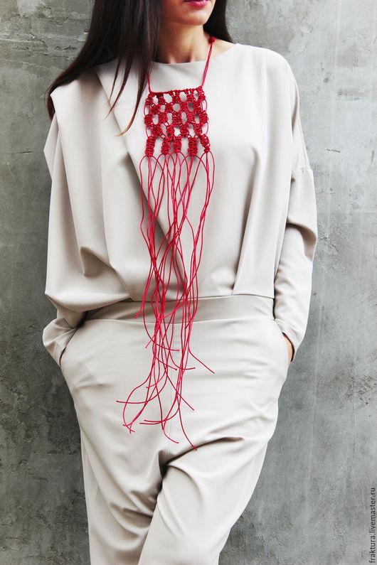 """Колье, бусы ручной работы. Ярмарка Мастеров - ручная работа. Купить Колье """"Knots"""" N0003. Handmade. Колье длинное"""