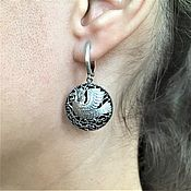 Earrings handmade. Livemaster - original item The Firebird earrings. Handmade.