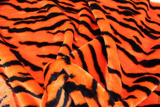 Куклы и игрушки ручной работы. Ярмарка Мастеров - ручная работа. Купить Тигр. Искусственный мех.Резерв.. Handmade. Оранжевый, тигр