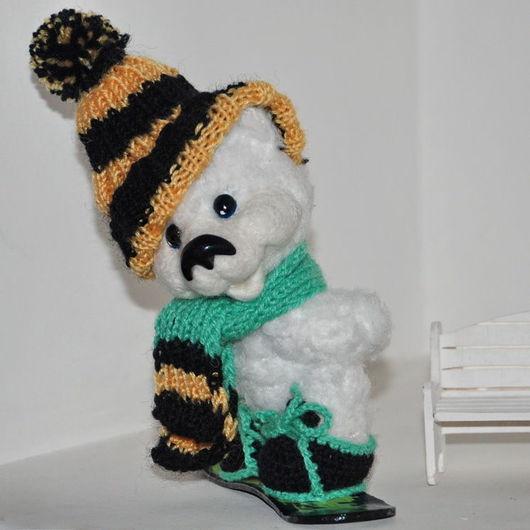 """Мишки Тедди ручной работы. Ярмарка Мастеров - ручная работа. Купить Тедди по мотивам работы """"Никифор"""". Handmade. Белый, теддик"""