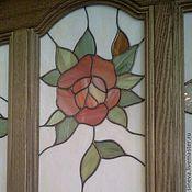 Для дома и интерьера ручной работы. Ярмарка Мастеров - ручная работа Витраж Розы. Handmade.